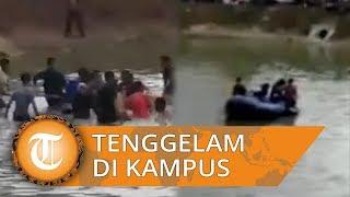 Berawal dari Bercandaan Ulang Tahun, Dua Mahasiswa UIN Lampung Tewas Tenggelam di Danau Kampus