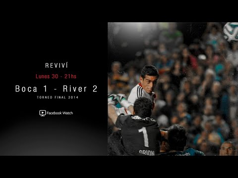 BOCA VS. RIVER - TORNEO FINAL 2014 [PARTIDO COMPLETO]