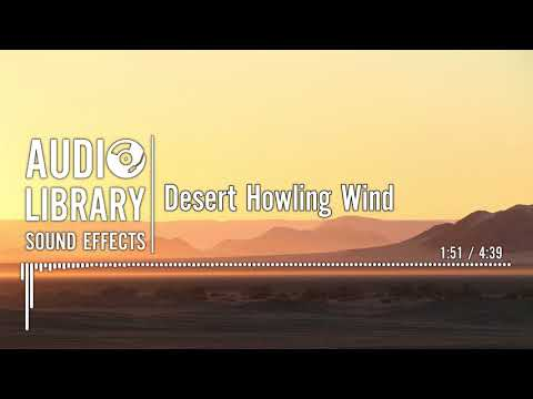 Desert Wind Sound FX from movies (Looped) - смотреть онлайн
