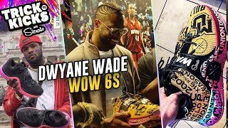 #1 Sneaker Artist Sierato Makes Customs For DWYANE WADE! D Wade's WHOLE CAREER On A Shoe 😱