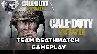 """Call of Duty: WW2 - Team Deathmatch Gameplay - """"Pointe Du Hoc"""" WWII"""