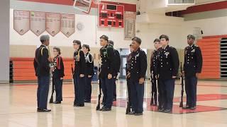 Winslow Drill Team Armed Platoon at Lenape HS