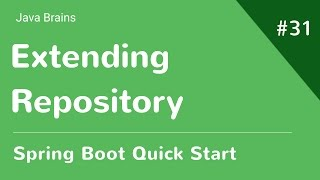 Spring Boot Quick Start 31   Adding Entity Relationship And Extending Repository