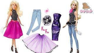 Кукла Барби - Модница!!! Одевалки. Наряды на Все Случаи Жизни из 10 Предметов. Игрушки для Девочек
