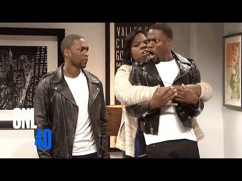 Kevin Hart's Son - SNL (видео)