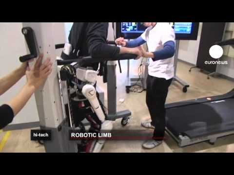 HAL: Roboteranzug als Gehhilfe