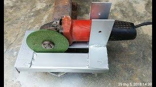 DIY ANGLE Grinder Hack -Genius Homemade Tools