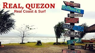MoTour goes to Real Coast and Surf, Quezon province│Surfing and Seafood trip [ENG SUB]