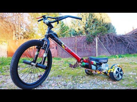 Como Hacer un Trike a Motor Casero   2 Motores Electricos (Bicicleta BMX + Hoverboard)