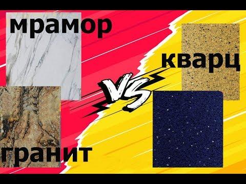 Испытания каменных поверхностей для кухонных столешниц.(часть 2) Что лучше гранит, мрамор,или кварц.