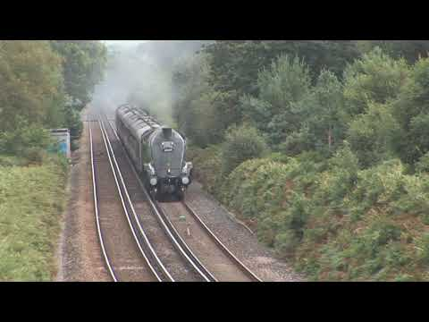 60009 'Union of South Africa' heads for Weymouth with 'The D…
