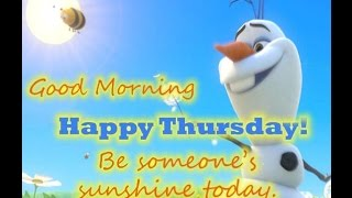 *Happy Thursday Greetings, Quotes, Sms, Wishes Saying, E-Card, Wallpapers,  Whatsapp Video