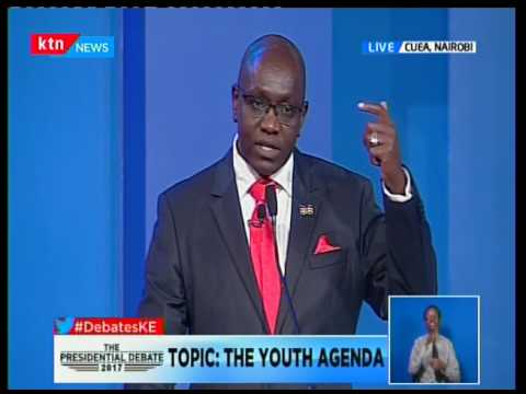 Presidential Candidate Ekuru Aukot's take on the Youth agenda