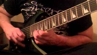 "Children of Bodom ""Taste of my Scythe"" Guitar solo played by Jesse Cole"