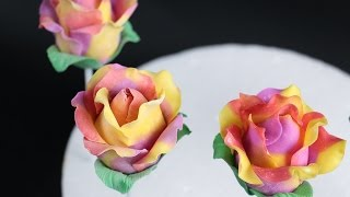 How To Make Rose Cake Pops Using Modeling Chocolate