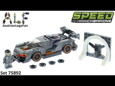 Vidéo LEGO Speed Champions 75892 : McLaren Senna