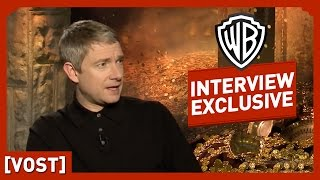 Le Hobbit - Interview Martin Freeman (VOST) - Peter Jackson