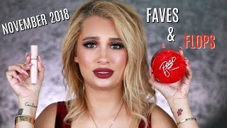 NOVEMBER 2018 FAVES AND FLOPS