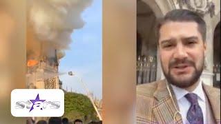"""Vedete Din România, Martorele Incendiului Din Paris! Virgil Mănescu: """"Focul S-a Extins Repede"""""""