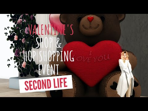 Valentine's Day in Second Life: Shop & Hop Event and much more!