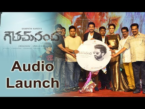 Gautham Nanda Movie Audio Launch Event