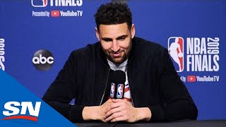 Klay Thompson Talks Kevin Durant & Warriors Comeback In Game 5 Win Over Raptors