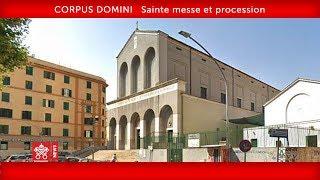 Pape François - Sainte messe et procession 2019-06-23