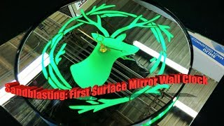 Etching Glass: How To Sandblast Mirrors | Complete Guide (2020)