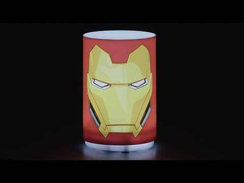 Mini Lampka Marvel Avengers - Iron Man