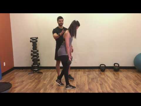 How To: Staggered-Stance Dumbbell Romanian Deadlift