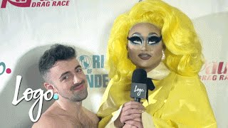 RuPaul's Drag Race (Season 8) | Coronation Party Red Carpet w/ Matteo Lane | Logo