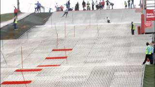 preview picture of video 'British Dry Slope Ski Championships Dual Slalom 2012 at Sunderland'