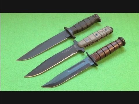 TOPS USMC Combat Knife Fixed Blade Review