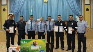 Лучшего инспектора дорожно-патрульной полиции выбрали в Восточном Казахстане