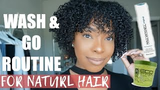 EASY WASH AND GO TUTORIAL THAT LASTS 7 DAYS + NIGHTIME ROTUINE!!