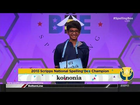 Texas teen wins Scripps Spelling Bee with