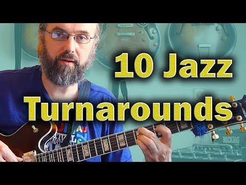 Jazz Chords: I VI II V turnaround in 10 variations - Jazz Guitar Harmony Lesson