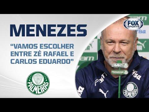 MANO MENEZES AO VIVO! Veja a entrevista com o treinador do Palmeiras