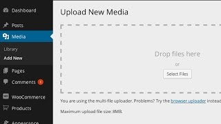 Increase Maximum Upload File Size In WordPress
