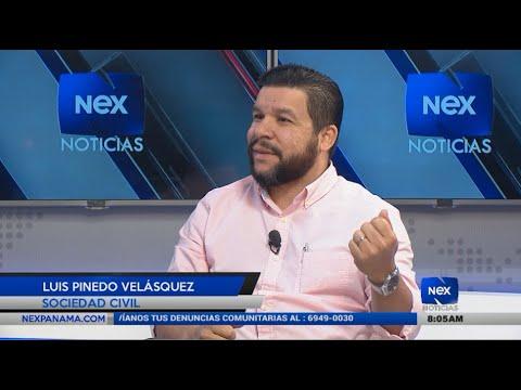 Entrevista a Luis Pinedo Velásquez, sobre propuesta alcaldicia