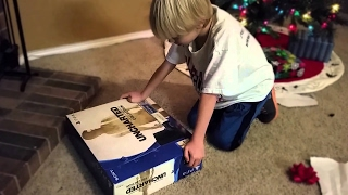 kid gets a fake PS4 for Christmas! MUST WATCH!!!