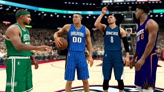 NBA 2K17 My Career - Slam Dunk Contest vs LaVine and Gordon! PS4 Pro 4K