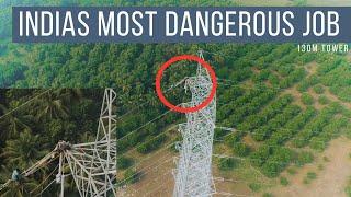 Most Dangerous Job in India I Shot with DJI Phantom 4 Pro I Chennai Pilots I Tower Inspection I