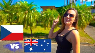 ČESKO vs AUSTRÁLIE - POVÍDÁNÍ