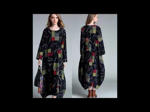 Модное платье-кокон