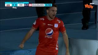 América Vs. Cúcuta (2-0) | Liga Aguila 2019-I | Fecha 19