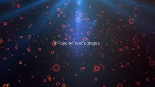Orange bokeh effects | particles light leaks | Particles background overlays | Royalty Free Footages