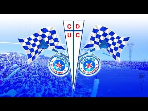"""""""Cruzado porque el mundo me hizo así"""" Barra: Los Cruzados • Club: Universidad Católica"""