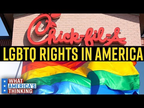 See where America lands on a variety of LGBTQ rights issues