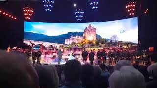 André Rieu Highland Dragon Pipe Band U. Bielefeld Pipes + Drums Highland Cathedral 2018 In Halle